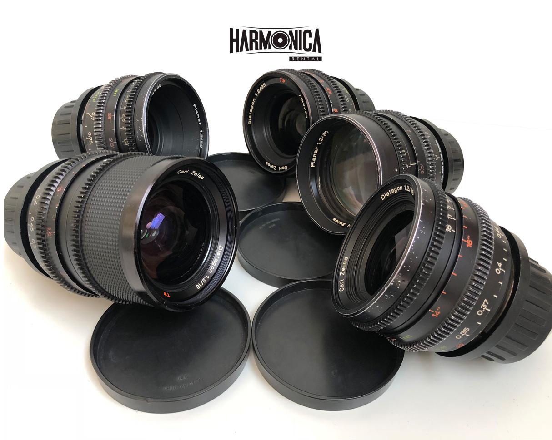 Zeiss T1.3 alquilar lentes