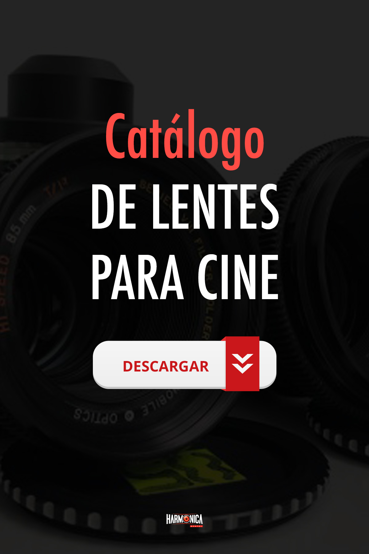 alquiler de lentes para cine
